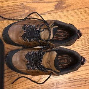 Dinner goretex leather hiking shoes men's 9